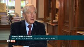 RTL INFO 13H : Laëtitia Delhez et Jean-Denis Lejeune s'adressent à la justice