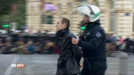 """RTL INFO 13H : L'évacuation d' """"Extinction Rebellion"""" samedi était-elle trop ferme ?"""