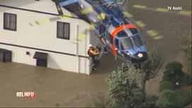 RTL INFO 13H : Japon: le bilan des victimes du typhon Hagibis s'est encore alourdi