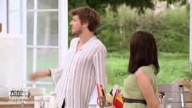 Le meilleur pâtissier : Baptiste dévoile le jardin secret de Mercotte