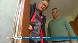 RTL INFO 19H : Lancement d'une campagne contre les cambriolages en Belgique