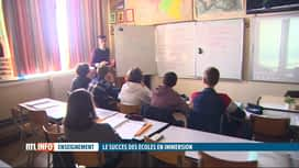 RTL INFO 19H : L'enseignement par immersion séduit de plus en plus de parents