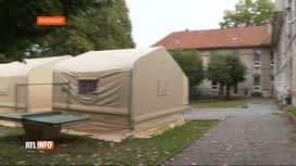 RTL INFO 19H : Des tentes déployées au centre Fedasil de Rixensart