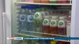 RTL INFO 13H : Le prix des sodas, en hausse depuis 3 ans, n'est en rien dissuasif