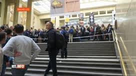 RTL INFO 19H : Un problème informatique perturbe le rail bruxellois vers 17h00