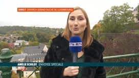 RTL INFO 13H : Deuxième jour de la visite d'état de nos souverains au Luxembourg