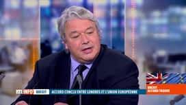 RTL INFO 13H : Projet d'accord sur le Brexit : décryptage avec Christophe Giltay