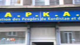 RTL INFO 13H : Les locaux d'une association kurde de Verviers ont été vendalisés