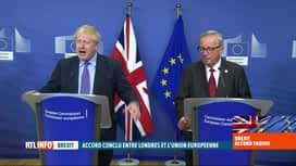 RTL INFO 19H : Brexit : un accord a été conclu ce jeudi matin