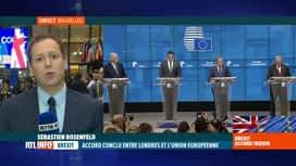 RTL INFO 19H : Accord sur le Brexit : les 27 pays de l'UE ont approuvé l'accord