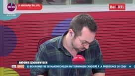 RTL INFO sur Bel RTL : RTL Info 8h du 18/10