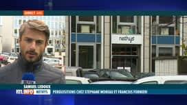 RTL INFO 13H : Nethys: perquisitions chez Stéphane Moreau et François Fornieri