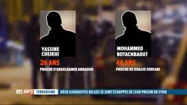 RTL INFO 13H : Les 2 djihadistes belges échappés d'une prison en Syrie sont connnus
