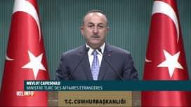 RTL INFO 13H : Offensive turque en Syrie: accord de cessez-le-feu temporaire