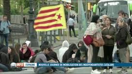 RTL INFO 13H : Journée de grève générale et de manifestations en Catalogne