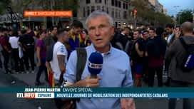 RTL INFO 19H : Catalogne: les Catalans vont-ils poursuivre la mobilisation?
