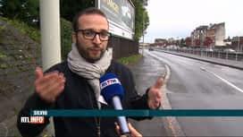 RTL INFO 13H : Une agression violente...pour un coup de klaxon!