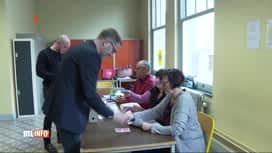 RTL INFO 13H : Les militants du PS élisent leur nouveau président