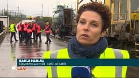 RTL INFO 13H : Infrabel organise une formation pour les pompiers