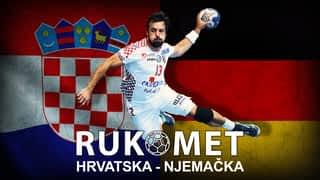 Rukomet: Hrvatska - Njemačka