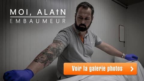 Moi, Alain, embaumeur