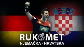 Rukomet: Njemačka - Hrvatska