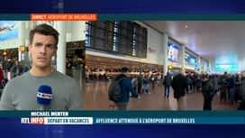 RTL INFO 13H : 720.000 voyageurs passeront par Brussels Airport pendant la Toussaint