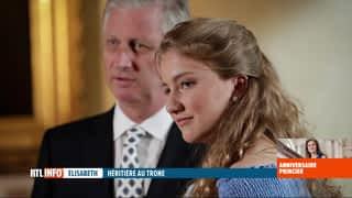 Elisabeth, héritière au trône