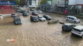 RTL INFO 13H : La distribution d'eau toujours pertubée ce samedi matin à Verviers