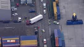 RTL INFO 13H : Suite de l'enquête sur les 39 corps découverts dans un camion à Grays