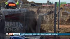 RTL INFO 13H : Ouverture de 2 chantiers pour le RER par Infrabel en Brabant wallon