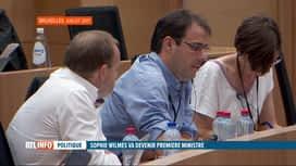 RTL INFO 13H : David Clarinval reprend le portefeuille de Sophie Wilmès