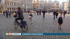 RTL INFO 13H : Vous sentez-vous en sécurité à Bruxelles? les résultats sont positifs