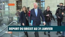 """RTL INFO 13H : Brexit: report de trois mois pour éviter un """"no deal"""""""
