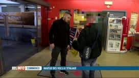 RTL INFO 13H : En moyenne, 61 vols à l'étalage sont commis par jour en Belgique
