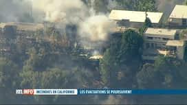 RTL INFO 13H : Des incendies menacent les quartiers chics de Los Angeles
