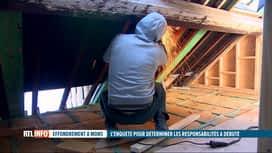 RTL INFO 13H : Effondrement dans une maison à Mons : qui est responsable de ce drame?