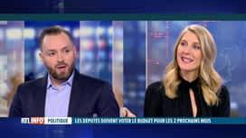 RTL INFO 13H : Budget, vote des 1/12 provisoires: l'éclairage d'Antonio Solimando