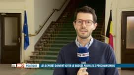 RTL INFO 13H : Budget: le Parlement doit voter les 1/12 provisoires cet après-midi
