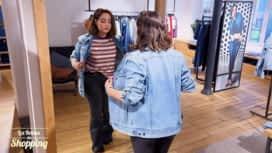 Les Reines du Shopping : Féminine avec une veste en jean : journée 5
