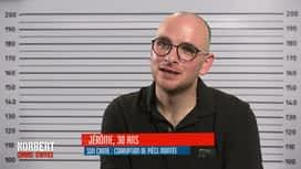 Norbert commis d'office : Jérôme : corruption de pièce montée / Carine : contrebande d'épices