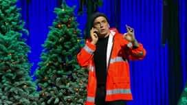 François Pirette : L'ouvrier et les décorations de Noël
