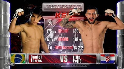 MMA: KSW 51 : Pejić vs. Torres