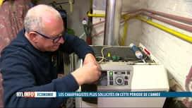 RTL INFO 13H : Les chauffagistes overbookés depuis le retour du froid