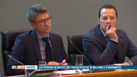RTL INFO 13H : 19 millions € versés par Nethys: que va faire le gouvernement wallon?