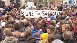 RTL INFO 13H : Les acteurs flamands de la culture dénoncent les coupes budgétaires