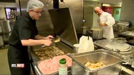 RTL INFO 13H : Les élèves de l'Athénée de Fleurus cuisinent pour les plus démunis