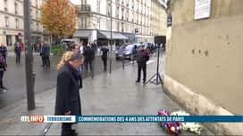 RTL INFO 19H : Attentats du 13 novembre à Paris : les hommages se succèdent