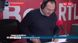 RTL INFO sur Bel RTL : RTL Info 13h du 14/11