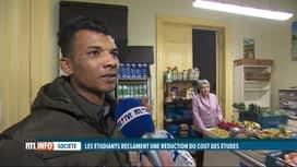 RTL INFO 19H : De plus en plus d'étudiants se tournent vers les CPAS et les ASBL